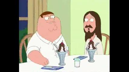 Family Guy Jeasus WTF