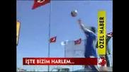 best of karizmashow slam dunk basketball trampolin show turkey akrobatik basketboll smac gosterisi