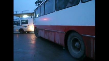 5377 Тръгването на Чавдар 11м3 от Автогара Омуртаг!