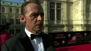 'Mission: Impossible - Rogue Nation' Vienna Premiere: Simon Pegg