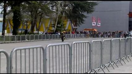Fair Moto Show 2011 Загравкя на стънт състезатели част 2