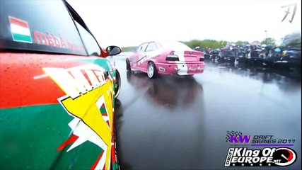 King of Europe Drift Series Round 1 2011 Kragujevac, Serbia