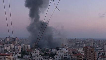 State of Palestine: Israeli airstrikes hit Hamas-linked compound in Gaza City