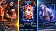 WWE SuperCard Team Battleground mode trailer update