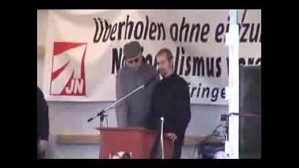 Berlin Neo Nazi Demonstration