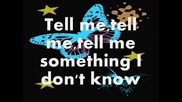 Selena Gomez - Tell Me Something I Don't Know (lyrics)