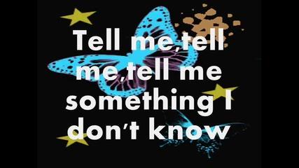 Selena Gomez - Tell Me Something I Don't Know (lyrics)