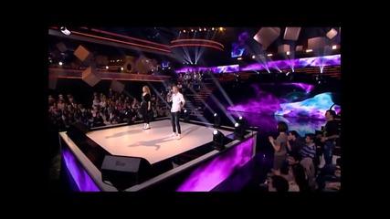 14 годишен подлуди публиката с гласа си - македония търси талант!