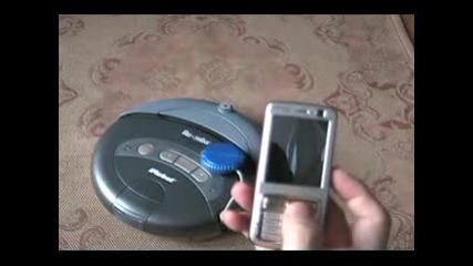 Nokia N73 Управлява Прахосмукачка