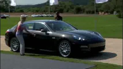 Porsche Panamera северноамериканските Дебют