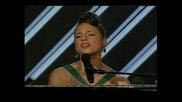 Grammy Awards 2008 Alicia Keys with Frank Sinatra