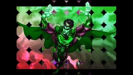 My favorite super hero..in green