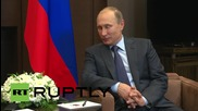 Russia: Putin holds bilateral talks with Kyrgyz leader Atambayev