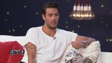 "Kostas Martakis ""arga"" Greek talk show 2015 part 3"