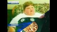 Най - Дебелото Момиче В Света - На 7 години 222 кг.!!!