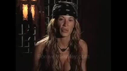 Ashley Massaro - Интервю (survivor China)