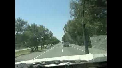 Кола - Бомба Огромен Взрив