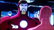Върховен Спайдър - Мен / Железният Човек, Капитан Америка и Тор искат Паяка за член на Отмъстителите
