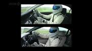 Стиг Развърта Bmw 760li и S63 Amg на пистана на Top Gear