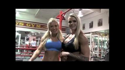 Hot female bodybuilders - motivation