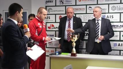 Георги Кабаков ще свири мача за титлата в Разград