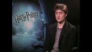 Daniel Radcliffe - интервю Harry Potter and the Half - Blood Prince част 2