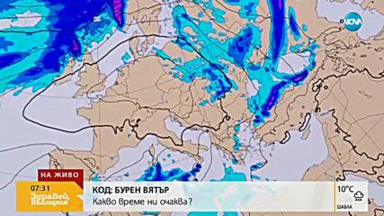 ПЪРВИ ПОЛЪХ НА ЕСЕНТА: Студено и дъждовно през уикенда