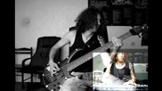 Killswitch engage - Rose Of Sharyn bass & piano cover