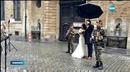 Сватбите в Белгия се охраняват от войници с автомати