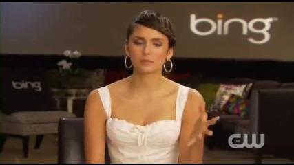 Нина Добрев отговаря на въпроси зададени от фенове