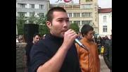 Протест срещу проектозабраната за протести пред НС и МС