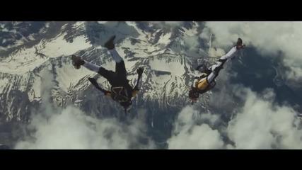 Скок от 10000 метра над Алпите