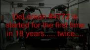 Delorean пали за първи път след 18 години престои!!