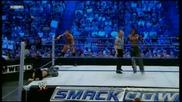 Randy Orton & John Morrison vs Christian & R-truth - Wwe Smackdown 8511