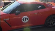 Nissan Gtr Ams Alpha 12 vs Porsche 911 Turbo Proto R911
