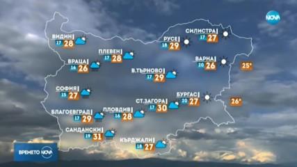 Прогноза за времето (06.09.2019 - сутрешна)