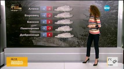 Прогноза за времето (14.03.2016 - сутрешна)