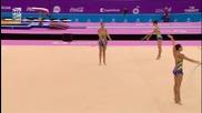 България - бухалки и обръчи - Европейски игри