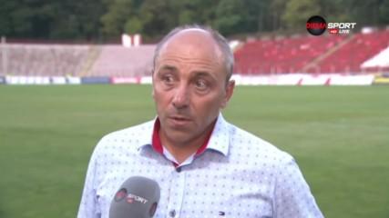 Илиев: Не сме им виновни на ЦСКА, че не са шампиони