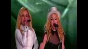 Madonna & Britney Spears - Human Nature (Sticky & Sweettour La)