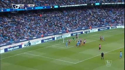 Манчестър Сити - Саутхемптън 2:0