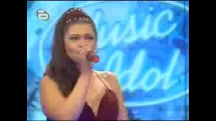 Music Idol Bg - Valentina Hasan can Lee Live