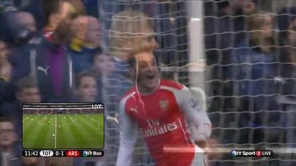 Хари Кейн вдъхнови Тотнъм за обрат над Арсенал / Тотнъм 2:1 Арсенал