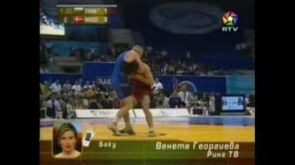 Явор Янакиев - Световен Шампион По Борба