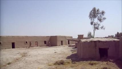Експлозия в Афганистан почти не убива войници !!