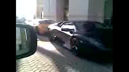 2 Lamburghini & 1 Ferrari