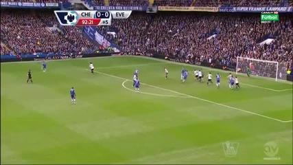 Chelsea vs Everton _ 1-0 - 22.02.2014 John Terry