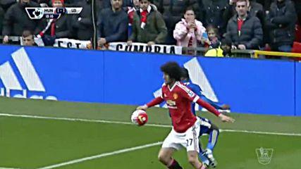 Манчестър Юнайтед - Лестър 1:1 /36-и кръг, Висша лига/