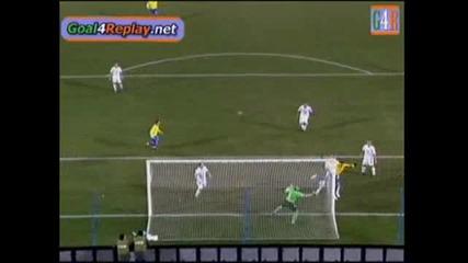 28.06.09 Сащ - Бразилия 2:2 гол на Луиш Фабиано