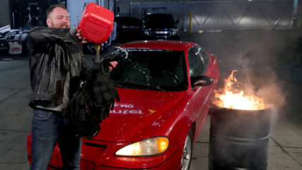Dean Ambrose sets his Shield vest on fire: Raw, Nov. 12, 2018
